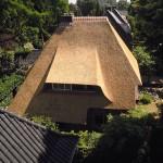 rietdekker Apeldoorn_Nieuw rieten dak - villa Apeldoorn aug 03